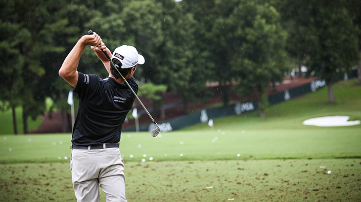 Titleist Brand Ambassador Robert Streb finished T7...