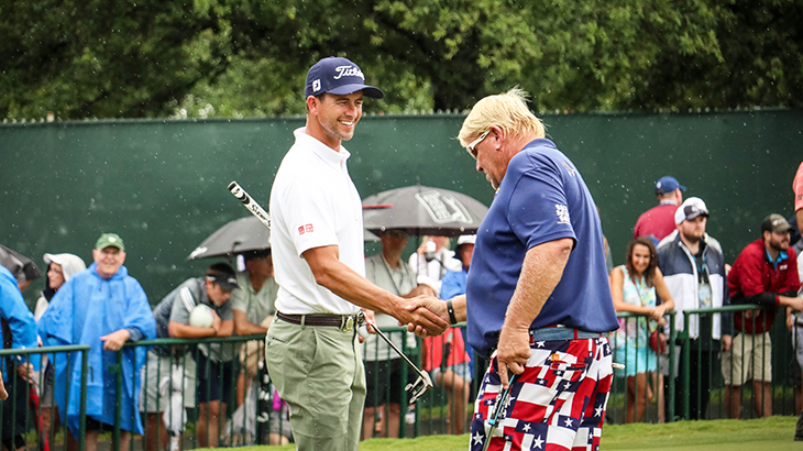 Game respects game. Titleist Brand Ambassador Adam...