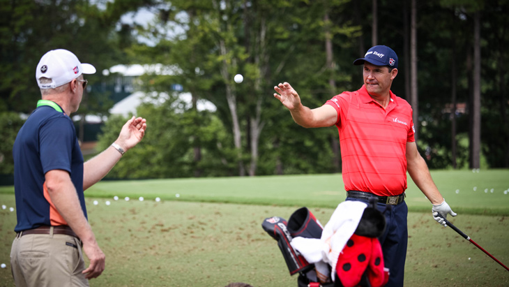Titleist golf ball loyalist Padraig Harrington won...
