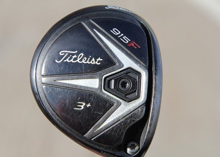 Bud's 915F 3+ fairway metal is neutrally...
