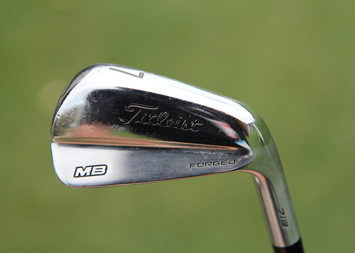 The collection of fairways and hybrids that Webb...