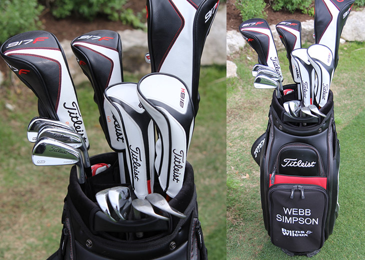 Scroll to take a look inside Webb's Titleist staff...