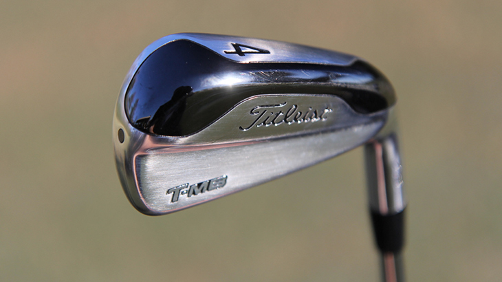 A closer look at Charles' 718 T-MB 4-iron. The...