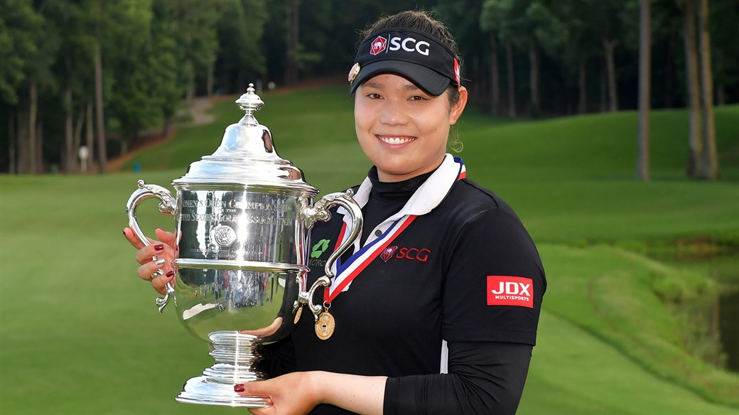 Ariay Jutanugarn at U.S. Women's Open